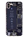 Maska Pentru Apple iPhone X iPhone 8 iPhone 7 iPhone 7 Plus iPhone 6 Ultra subțire Model Carcasă Spate Cuvânt / expresie Moale TPU pentru