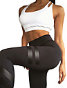 Yogabyxor Leggings Yoga Medium Midja Elastisk Fotbollströjor Dam Yoga Pilates casual Multisport Löpning