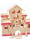 Träpussel Modellbyggset Leksaker Nyhet Klassisker Tema Focus Toy Simulering Föräldra-Barninteraktion Klassisk Trä Vuxna Bitar