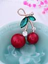 Pentru femei Broșe - Fructe, Dulce Broșă Rosu Pentru Crăciun / Nuntă
