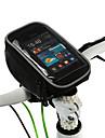 ROSWHEEL Sac de téléphone portable Sacoche de Guidon de Vélo 5 pouce Multifonctionnel Ecran tactile Cyclisme pour Samsung Galaxy S6 LG G3