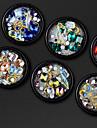 1 pcs Nail DIY Tools Diamant / Spesialdesignet / Kunstnerisk Neglekunst Manikyr pedikyr Bryllup / Gave Rhinestone / Mote