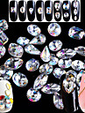 5pcs/set Verktyg och tillbehör Nail Smycken Nail Glitter kristall Strass Glitter & Sparkle Glitter och glans Mousserande Hög kvalitet 3D