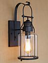Protecție Ochi Contemporan Pentru Sufragerie Metal Lumina de perete 220V 40W