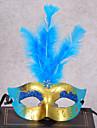 Classique Masque de mascarade Jaune Rouge Rose Rouge Bleu Rose Plastique Accessoires de cosplay Halloween Mascarade