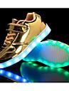 Băieți Pantofi Piele Originală Primăvară / Toamnă Confortabili Adidași pentru Auriu / Argintiu / Roz