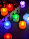 Lumânarea luminii Baterie Roz Albastru Verde Multicolor Multi culori (spumante) 30.0*20.0*8.0cm
