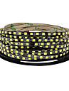 5m Fâșii De Becuri LEd Flexibile 600 LED-uri 2835 SMD Led de 5M LED Strip Alb Cald / Alb Rece Ce poate fi Tăiat / De Legat / Auto- Adeziv 12 V 1 buc
