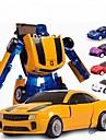 Robot Petites Voitures Jouets Automatique Theme classique Transformable Enfant Pieces