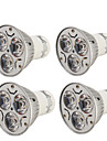 YouOKLight 3W 200-250 lm GU10 Spoturi LED R63 3 led-uri LED Putere Mare Decorativ Alb Cald Alb Rece AC 110-130V AC 220-240V