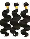 3 Связки Бразильские волосы Естественные кудри Не подвергавшиеся окрашиванию Человека ткет Волосы 8-28 дюймовый Ткет человеческих волос 8а Расширения человеческих волос