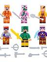 Blocos de Construir Blocos Militares Conjunto de construcao de brinquedos 20 pcs Soldier compativel Legoing O stress e ansiedade alivio Para Meninos Para Meninas Brinquedos Dom / Brinquedo Educativo
