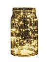Ljusslingor 20 lysdioder Multifärg Batteri