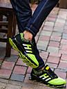 Bărbați Pantofi Tul Primăvară / Toamnă Confortabili Adidași de Atletism Alergare Negru / Verde / Party & Seară