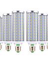 YWXLIGHT® 6pcs 45W 4400-4500 lm E26/E27 Becuri LED Corn 140 led-uri SMD 5730 Alb Cald Alb Rece Alb Natural AC 85-265V