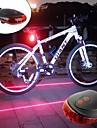 LED Eclairage de Velo Eclairage de Velo Arriere Eclairage securite velo / Ecarteur de danger ECLAIRAGE ARRIERE LED VTT Velo tout terrain Cyclisme Portable Poids Leger Batterie rechargeable 300 lm