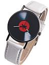 Pentru femei Ceas de Mână Piele Negru / Alb / Roșu Cronograf Creative Mare Dial Analog Vintage - Negru Maro Rosu Un an Durată de Viaţă Baterie / SSUO LR626