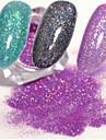 3 / 3pcs Umjetni noktički savjeti Torba za alat Za Visokog sjaja nail art Manikura Pedikura Glamurozan sjaj Vjenčanje / Party / Svakodnevica