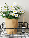פרחים מלאכותיים 1 ענף סגנון מינימליסטי פסטורלי סגנון חינניות פרחים לשולחן