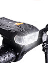 Eclairage de Velo / bicyclette LED LED Cyclisme Impermeable Legere Batterie rechargeable 400lm Lumens Blanc Cyclisme