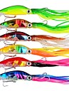 6 pcs Fishing Lures Hard Bait Trolling Lure Octopus ABS Outdoor Sports & Outdoors Octupus Sinking Fast Sinking Sea Fishing Bait Casting Spinning / Jigging Fishing / Freshwater Fishing / Carp Fishing