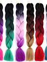 Crochet Afro Rajouts Colores 100% cheveux kanekalon 2 pcs / pack Tresses Jumbo Cheveux Tressee Long