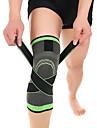 Knästöd för Basket Löpning Fukttransporterande Stretch Andningsfunktion Unisex Nylon Lycra Spandex 1 st Sport & Utomhus Grön