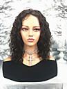 Cabello Natural Remy Spitzenfront Peruecke Stil Brasilianisches Haar Wellen Peruecke 130% Haardichte Damen Mittlerer Laenge Echthaar Peruecken mit Spitze beikashang