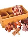 Luban de blocare Other Focus Toy Lemn / Bambus 1pcs Adulți / Copilului Toate Cadou