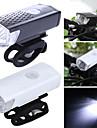 Framlykta till cykel LED Cykelsport Bärbar / Vattentät / Lättviktig 400lm Lumen Uppladdningsbara batterier Vit Camping / Vandring /
