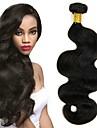 6 Bundler Peruviansk hår Bølget 8A Menneskehår Hårforlængelse af menneskehår Naturlig Farve Menneskehår Vævninger Ekstention Hot Salg Menneskehår Extensions Alle