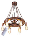 OYLYW Retro Industriel Lampe suspendue Lumiere d'ambiance - Style mini, 110-120V / 220-240V 8 Ampoules Ampoule non incluse / 15-20㎡