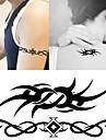 10 pcs Временные тату Временные татуировки Тату с тотемом Искусство тела рука / запястье / плечо