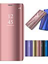 Capinha Para Huawei P20 Pro / P20 lite Com Suporte / Galvanizado / Espelho Capa Protecao Completa Solido Rigida PC para Huawei P20 / Huawei P20 Pro / Huawei P20 lite / P10 Plus / P10 Lite / P10