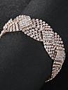Pentru femei Cristal Brățări cu Lanț & Legături European Modă Brățări Bijuterii Auriu / Argintiu Pentru Nuntă Zilnic