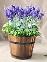 Kunstbloemen 1 Tak Klassiek Stijlvol Rustiek Lichtblauw Bloemen voor op tafel