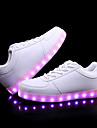 Pentru femei Pantofi Imitație Piele Vară Pantofi Usori Adidași Toc Drept Alb / Negru