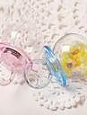 Κυκλικό Πλαστική ύλη Εύνοια Κάτοχος με Διαφορετικά Υφάσματα Κουτιά Μποπονιέρων - 12pcs