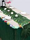 عطلة زينة رأس السنة / ديكور عيد الميلاد المجيد عيد الميلاد الحلي حزب / ديكور / زفاف أخضر 12p جيم