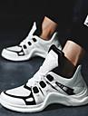 للجنسين أحذية الجري أحذية رياضية مطاط المشي ركض الركض متنفس يمكن ارتداؤها      قابل للبسط شبكة أبيض أسود برتقالي + أبيض