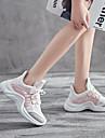 نسائي أحذية رياضية مطاط المشي ركض الركض خفة الوزن متنفس المضادة للاهتزاز شبكة قابلة للتنفس جلد PU أصفر أزرق زهري
