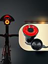 Eclairage de Velo Arriere ECLAIRAGE ARRIERE LED Eclairage de Velo Cyclisme Impermeable Invisible Poids Leger Lithium-ion 50 lm USB Rouge Cyclisme