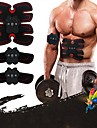 Abs Stimulator EMS Abs Trainer 33 cm Diameter PU Leather / Polyurethane Leather Electronic Non Toxic Strength Training Muscle Toning Massage Build Muscle, Tone & Tighten Exercise & Fitness Gym