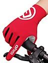 Szabadidős/Sport kesztyűk Szabadidős és sport kesztyűk Kerékpáros kesztyűk Hegyi biciklizés Országúti biciklizés Légáteresztő Anti-Shake Csúszásmentes Teljes ujj Spandex Lycra Szilícium Országúti