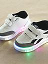 Αγορίστικα / Κοριτσίστικα Παπούτσια PU Φθινόπωρο & Χειμώνας Ανατομικό / Φωτιζόμενα παπούτσια Αθλητικά Παπούτσια Γάντζος & Θηλιά / LED για Παιδιά / Νήπιο Λευκό / Μαύρο / Καοτσούκ Πολυέστερ