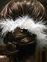 まち針 ヘアアクセサリー 羽毛 ウィッグアクセサリー 女性用 6pcs 個 1-4インチ cm ウェディングパーティー ビンテージ 手作り