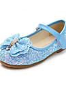 Κοριτσίστικα Παπούτσια PU Άνοιξη & Χειμώνας Λουλουδάτα φορέματα για κορίτσια Χωρίς Τακούνι Τεχνητό διαμάντι / Φιόγκος για Παιδιά / Νήπιο Φούξια / Μπλε / Ροζ / Καοτσούκ Πολυέστερ / EU36