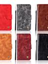 غطاء من أجل Apple iPhone XR / iPhone XS Max محفظة / حامل البطاقات / مع حامل غطاء كامل للجسم لون سادة قاسي جلد PU إلى iPhone XS / iPhone XR / iPhone XS Max