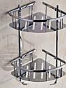 Ράφιι μπάνιου Δημιουργικό Σύγχρονο Ανοξείδωτο Ατσάλι 1pc Διπλό Επιτοίχιες