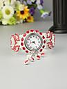 FEIS Pentru femei femei Ceas Brățară Quartz Argint Cronograf Analog - Digital Modă - Rosu